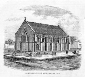 Holy Trinity Church East Melbourne, 1864