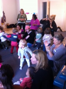 First Birthday celebrattions of the Playgroup